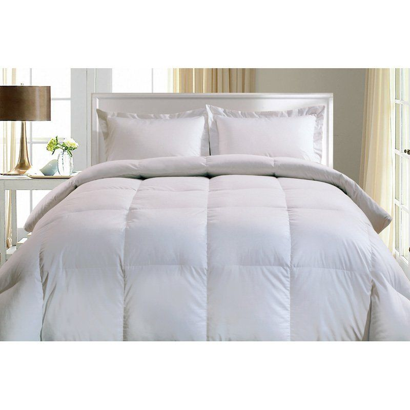 1000 Egyptian Cotton European White Goose Down Comforter - 2121