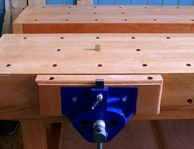 Face Vise Is A Carpenter S Vice With Wooden Cheeks Work