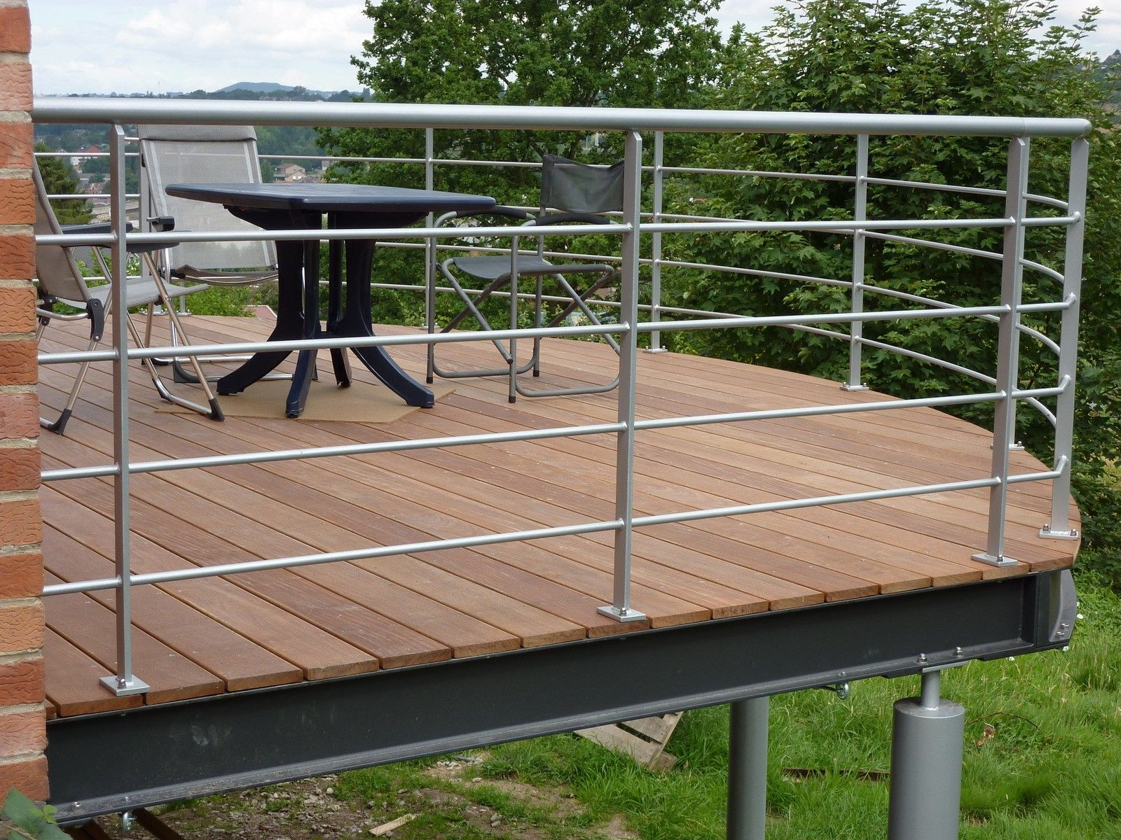 Find Inspiration About Prix D Une Terrasse En Bois Sur Pilotis Terrasse Suspendue En Bois Terrasse Suspendue Bois P Balkon Haus Eine Veranda Bauen Holzterrasse