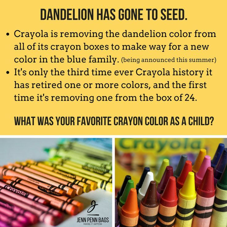 Happy National Crayon Day 2017! What was your favorite