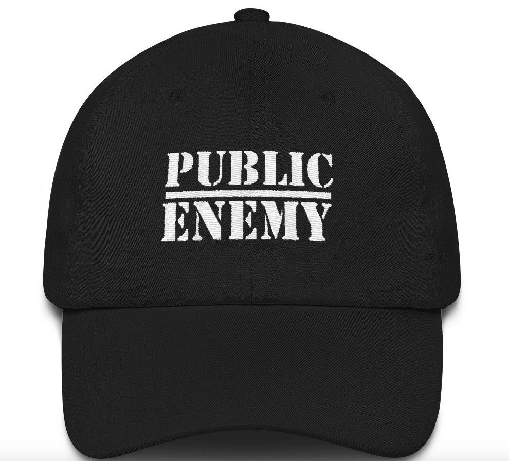 Public Enemy PE 90s Hip Hop Rap Embroidered Dad Hat Strap Back  fashion   clothing  shoes  accessories  mensaccessories  hats (ebay link) 4f9784e57e6