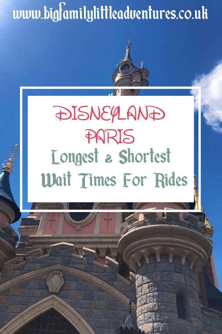 Photo of Disneyland Paris Wait Times 2019: Das Lange und das Kurze