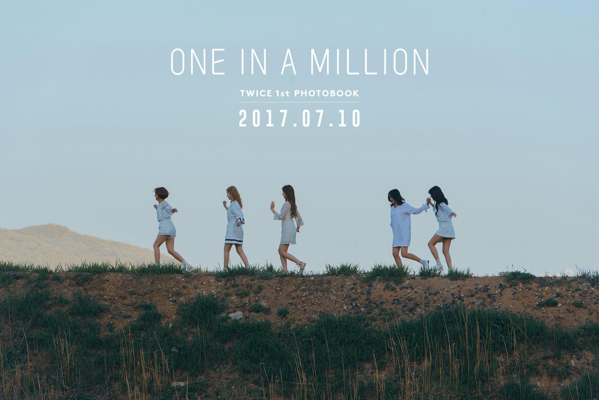 Twice 1st Photobook One In A Million 2017 07 10 Twice 트와이스