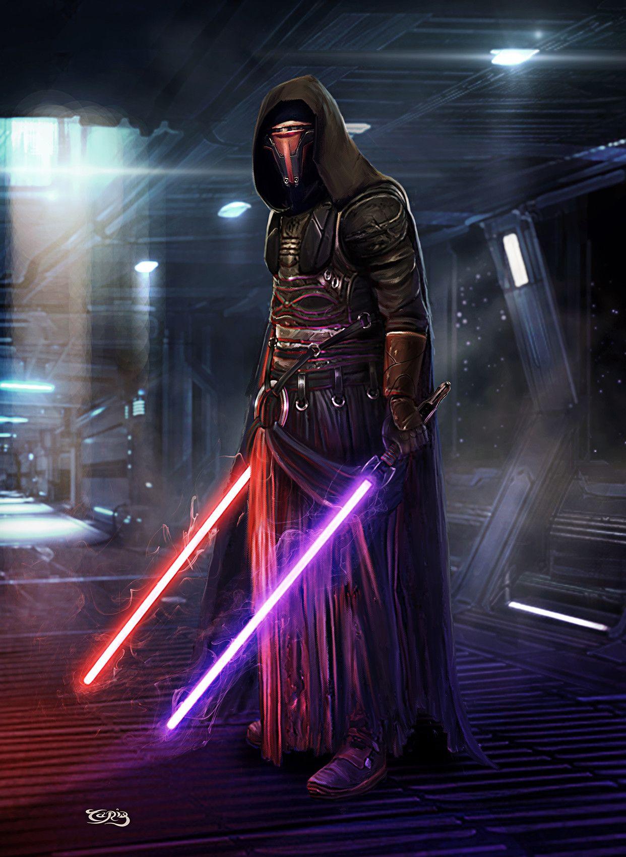 Star Wars Darth Revan Art