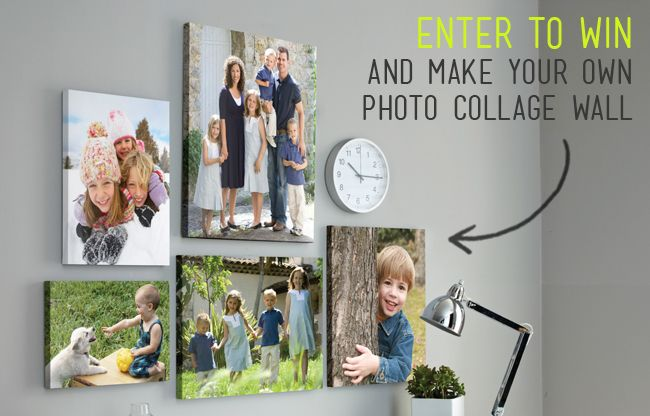 lula louise: giveaway and design tips to make a po collage wall ...
