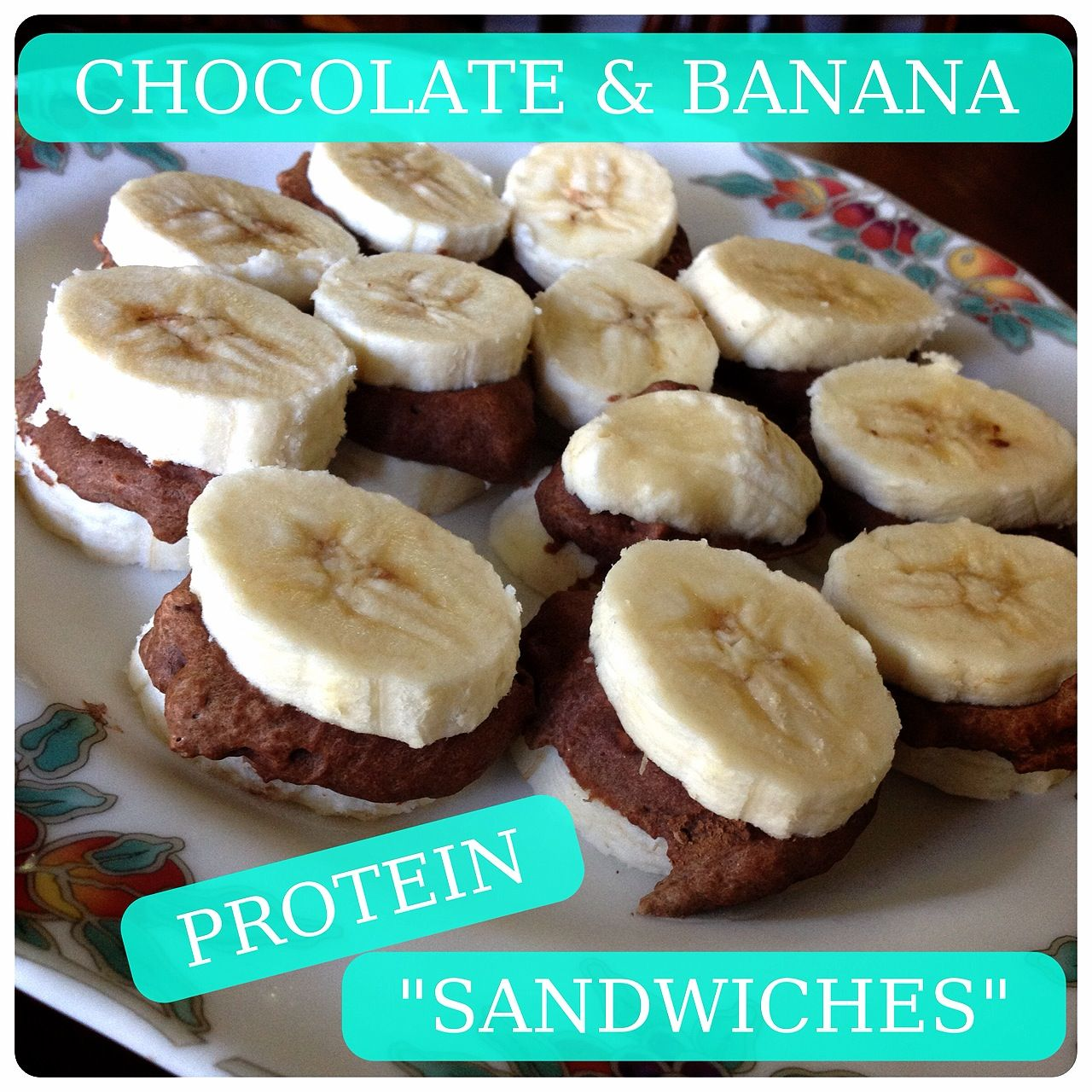Maden In Küche Gesundheit Healthy Chocolate And Banana Protein Sandwiches By