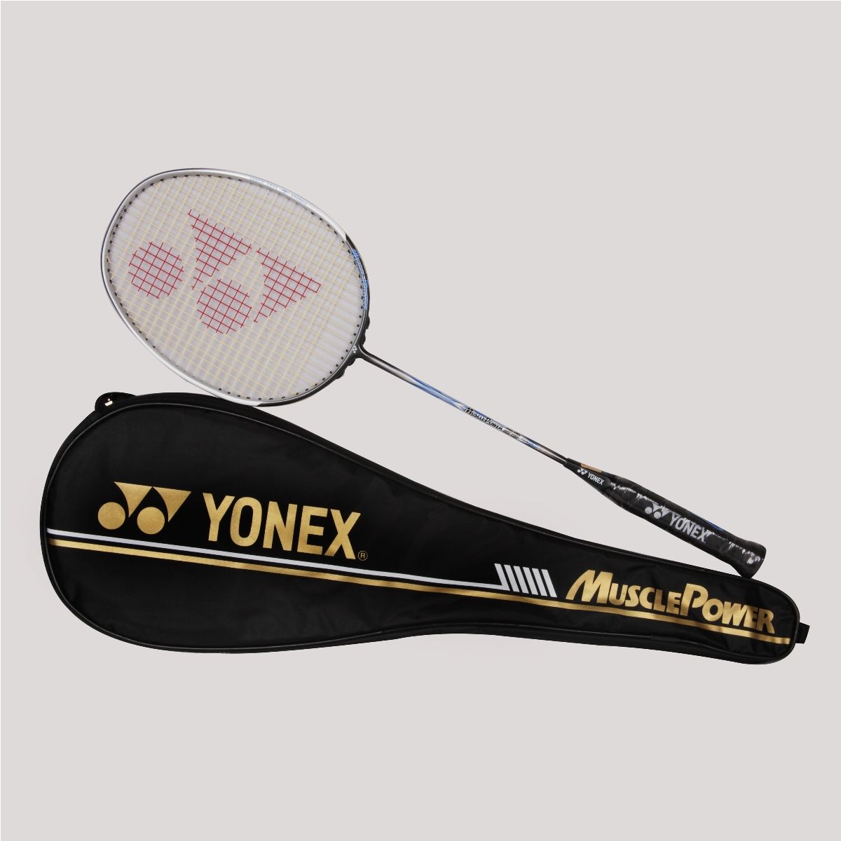 Yonex Muscle Power 23 Pwr Badminton Racket White Black Price 5389 With Images Badminton Racket Online Sports Store Badminton