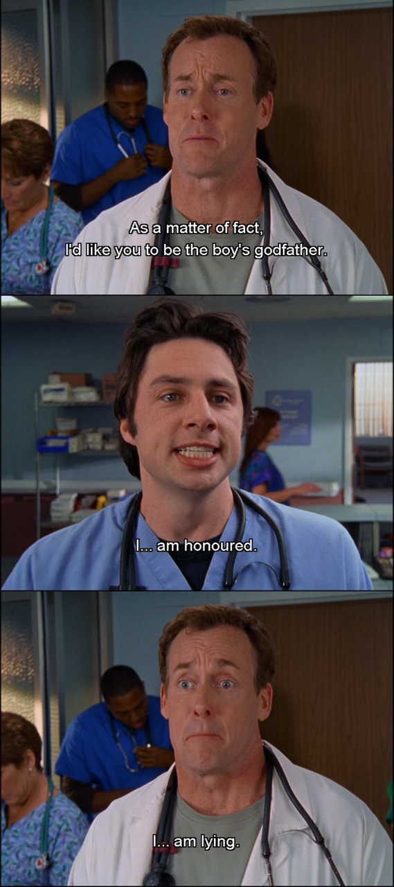 Funny Scrubs Quotes