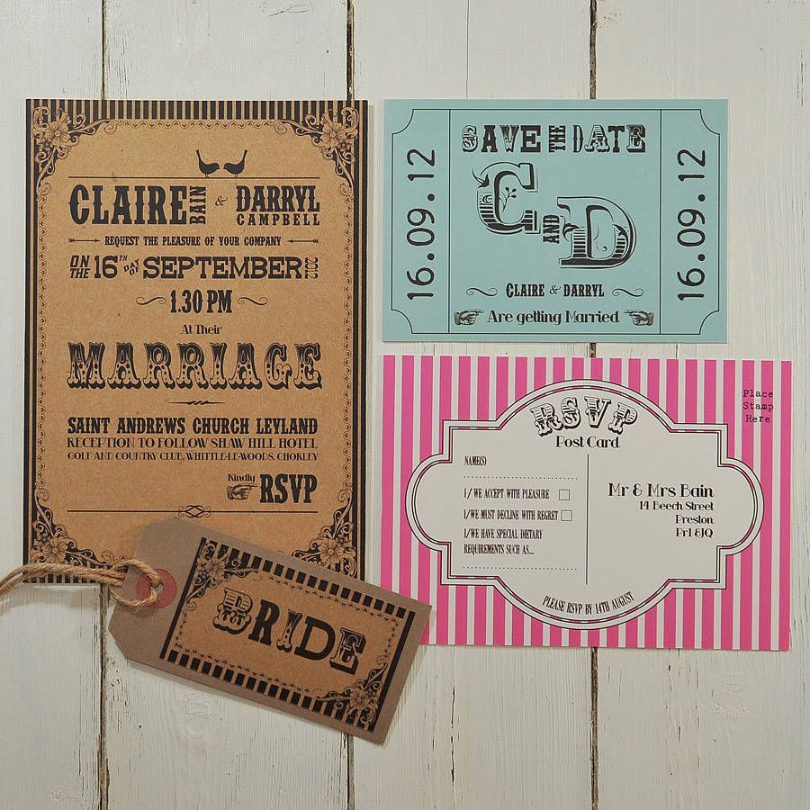 Carnival Themed Wedding Invitations Choice Image - Wedding ...