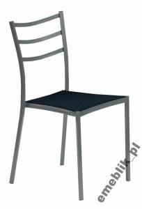 Najtaniej Krzesło Stelaż Szary Kuchnia Stół Taras