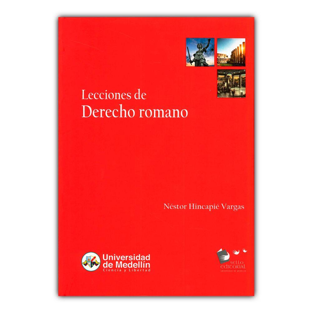 Lecciones De Derecho Romano Carlos Medellin Pdf