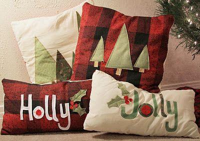 Christmas Pillows Dodoshka S X Mas Pinterest Christmas Pillow