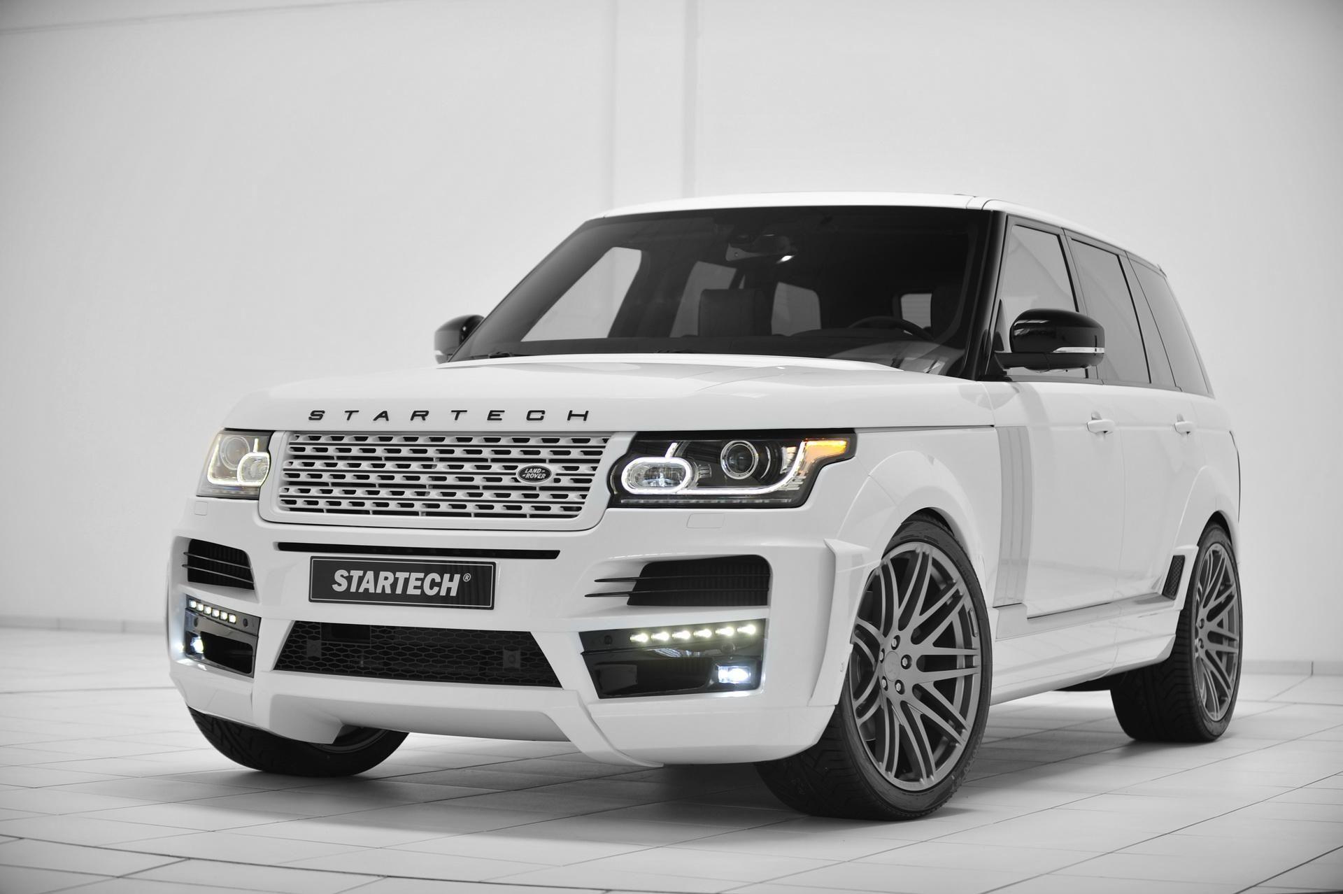 Startech Widebody Range Rover White Wallpaper
