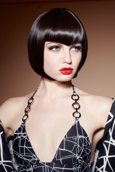 Love the fringe on this haircut! Hair & Makeup: Sherri Jessee Photo: James Weber