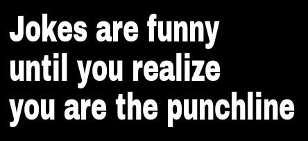 Funny punchline quotes