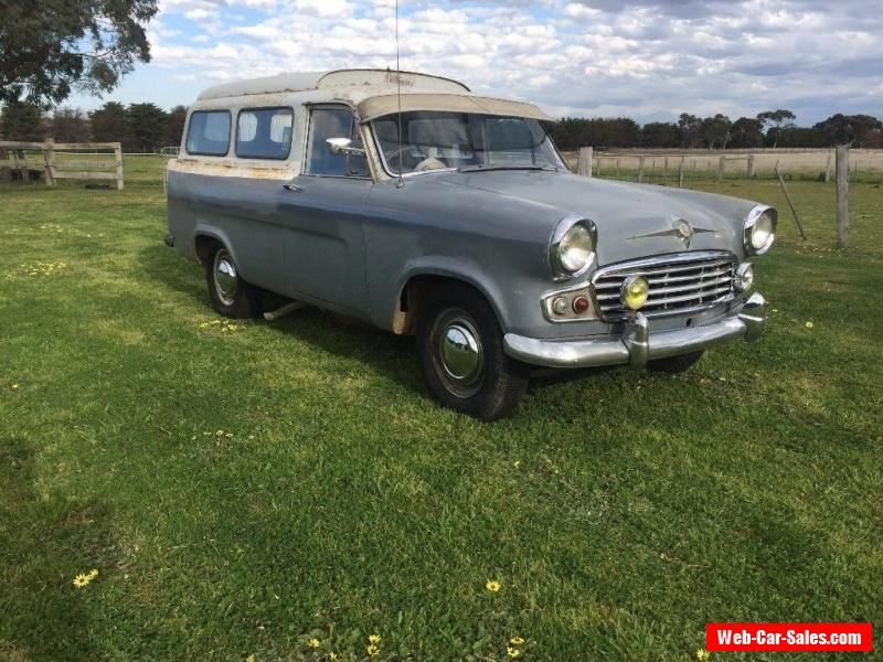 Vanguard panel van very rare not Holdenfordchevdodge #standard ...