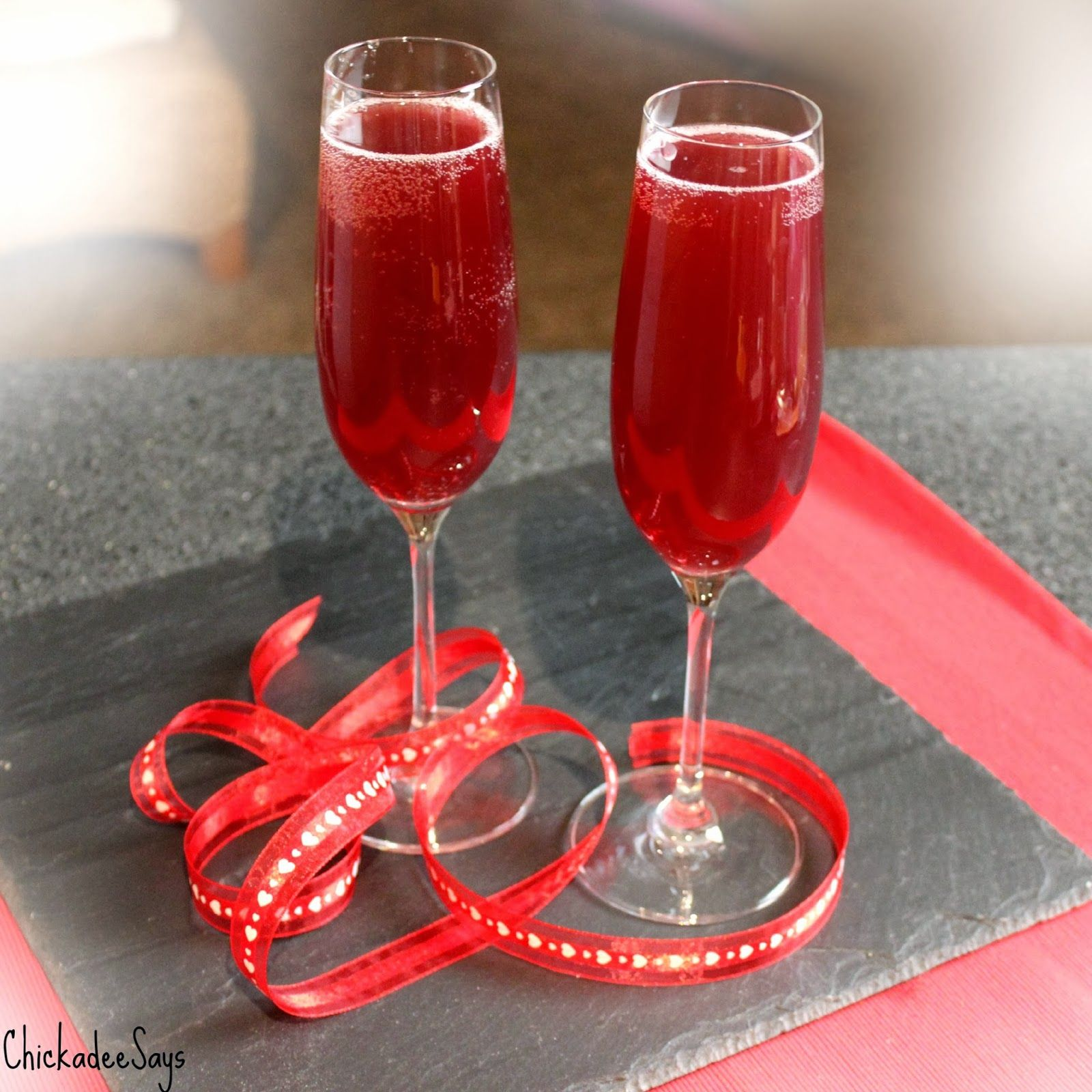 Chickadee Says: Spiked Pomegranate Cream Soda
