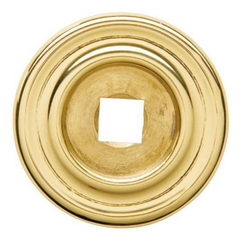 baldwin 4903 1 3 4 inch diameter cabinet knob back plate antique