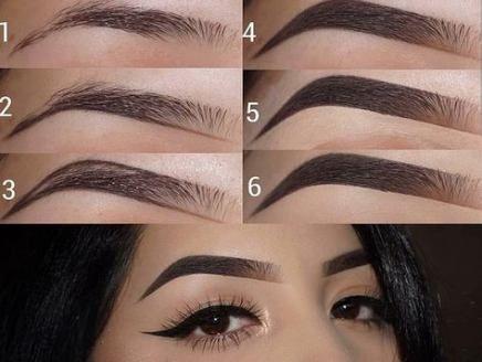 Maquillaje #Cejas #makeup Maquillaje de cejas arqueadas Cejas Recorte de cejas E #Arche Makeup  – Maquillaje