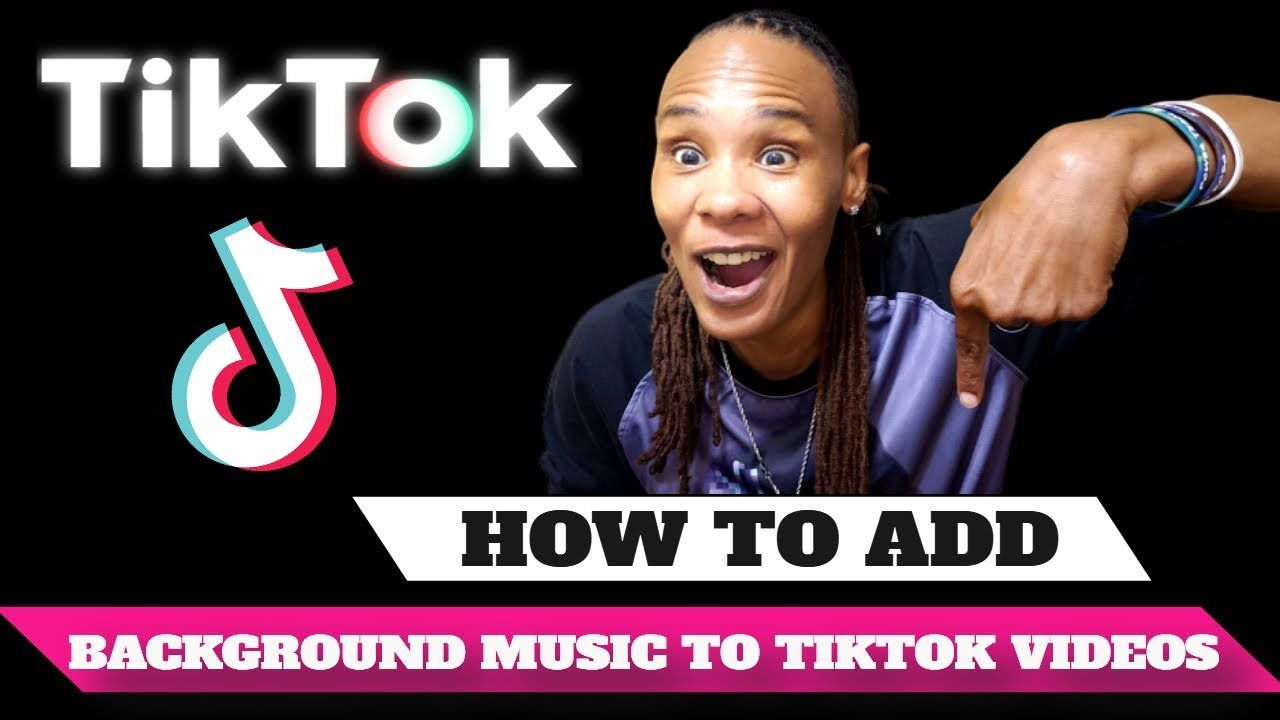 How To Add Background Music To Tiktok Videos Marketing Strategy Business Marketing Strategy Business Marketing
