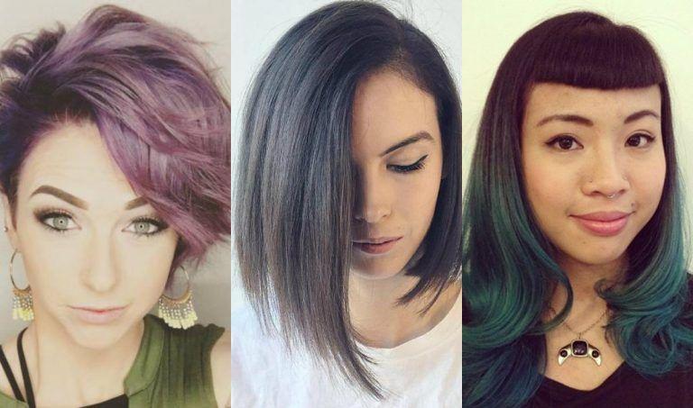Attention grabbing asymmetric haircuts 2019