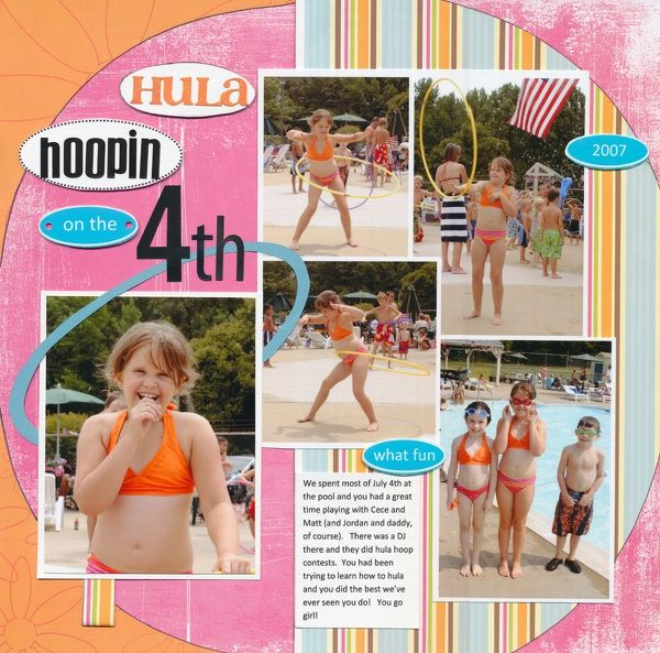 Hula Hoopin on the 4th by njoyscrappin @2peasinabucket