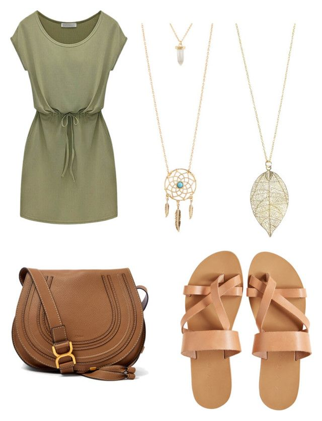 """""""S"""" by sxrxxrxs ❤ liked on Polyvore featuring KYMA, Chloé and Aéropostale"""