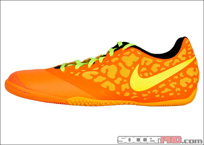 Nike FC247 Elastico Pro II Indoor Soccer Shoes - Laser Orange with Volt.