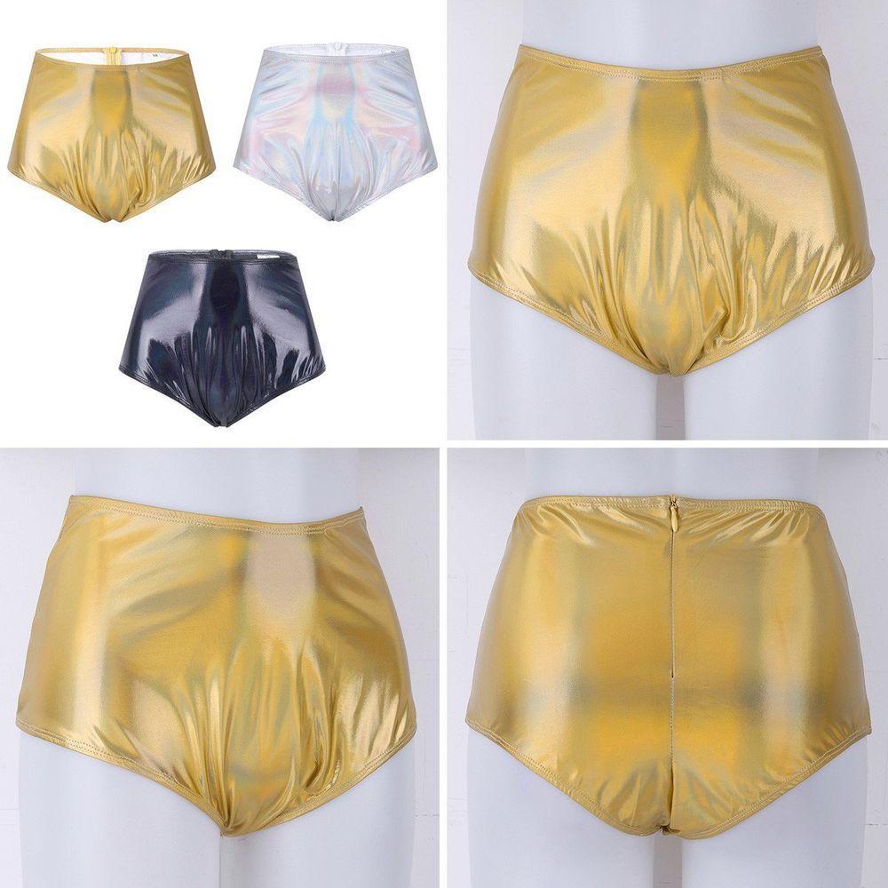 b1f9cd96de Festival/EDM Shiny Metallic High Waisted Booty Shorts #fashion #clothing  #shoes #accessories #womensclothing #shorts (ebay link)