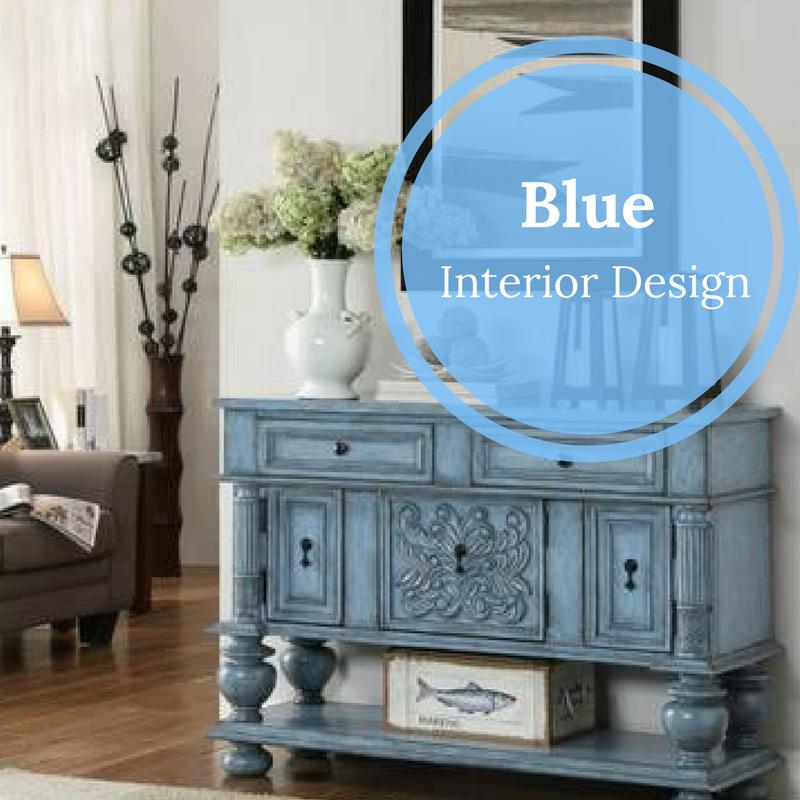 Blue Furniture Painted, Rustic Farmhouse Furniture
