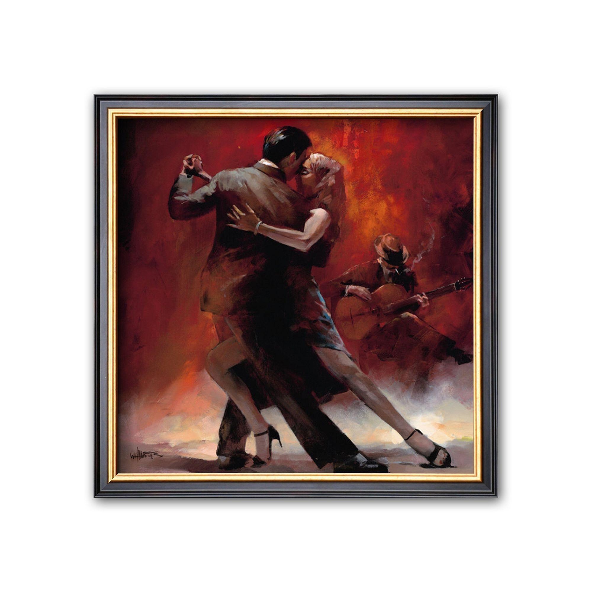 Art.com Tango Argentino II Framed Art Print by Willem Haenraets ...