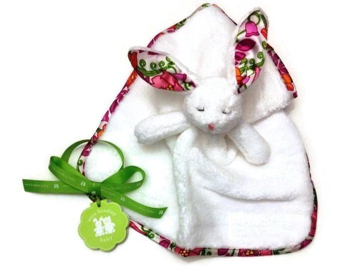 Vera Bradley Baby Girl Toy Lovey Bunny In Lilli Bell Age 6