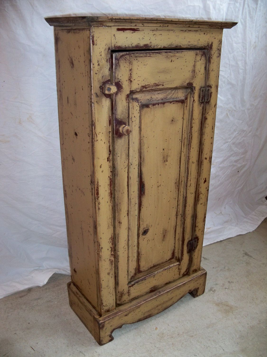 Jelly Cupboard 249 00 Via Etsy Jelly Cupboard Primitive Furniture Tell City