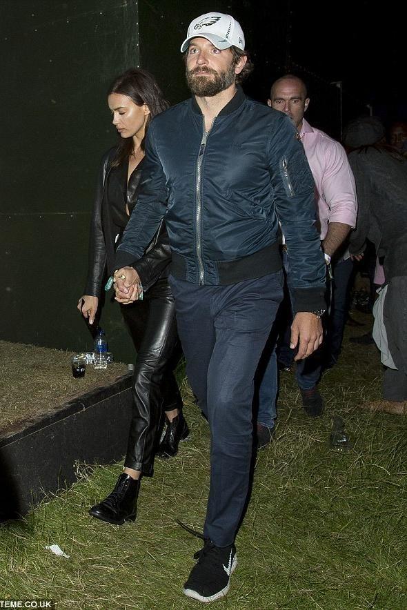 Bradley Cooper wearing Nike Free Run Flyknit Running Shoe, J Brand Brooks  Trouser in Federal