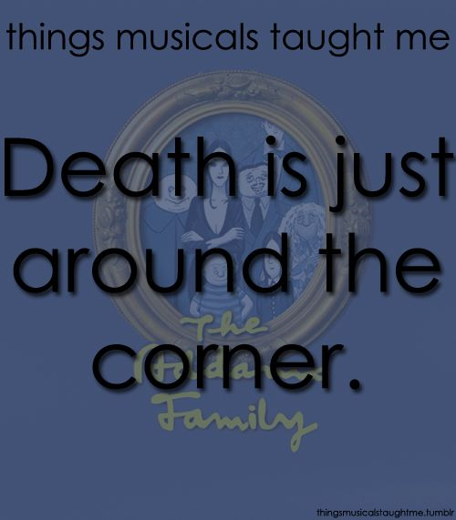 Addams Family Addams Family Musical Addams Family Musical Quotes Musicals Funny