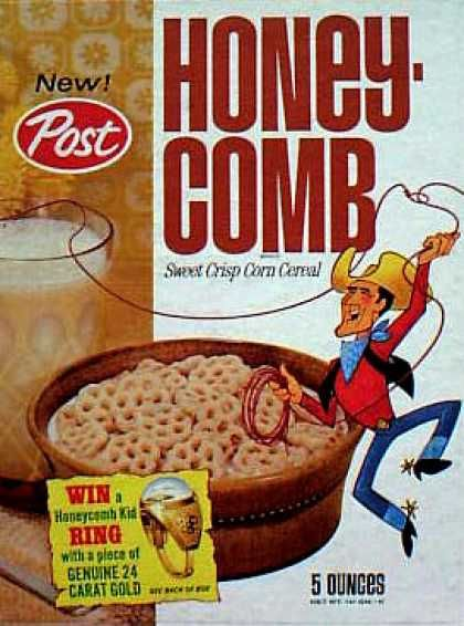Honeycomb Vintage Cereal Boxes Pinterest Cereal Box And Vintage
