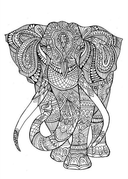 Heres An Ink Line Pic I Drew For The Creative Therapy Colouring Book