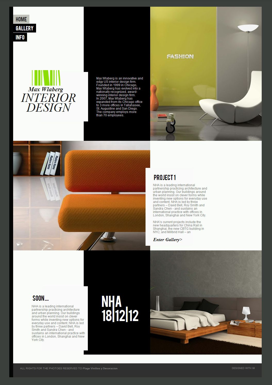 industrial interior design brochure - Google Search ...