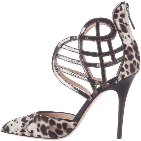 cheap sale 2014 newest Monique Lhuillier Ponyhair Pointed-Toe Pumps buy cheap footlocker under 70 dollars fashionable for sale tJ9fz