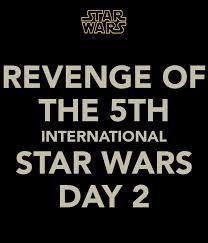 Image result for revenge of the 5th day | Star wars memes, Revenge ...