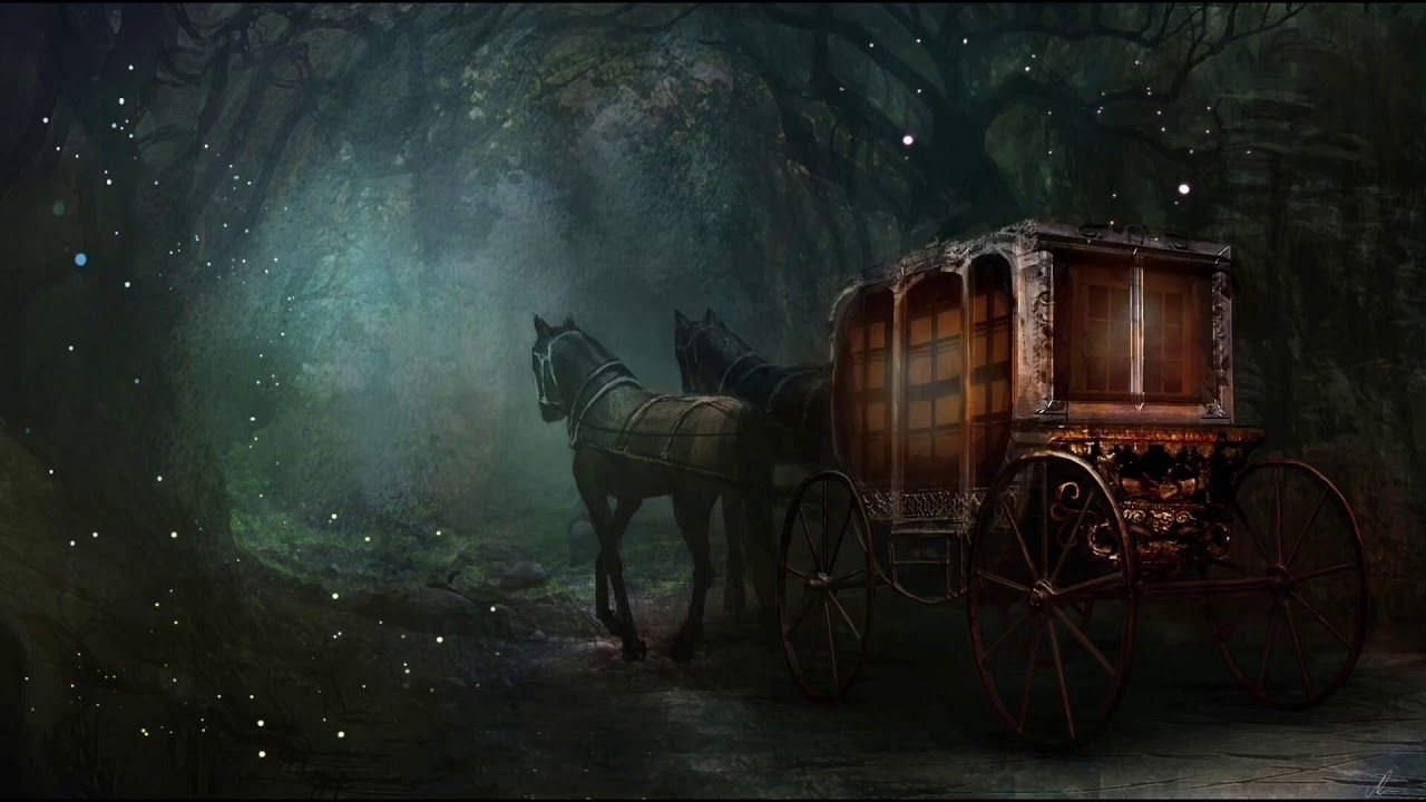 Carriage Ride Through the Woods | ASMR Ambience 🧳🎩✨ - YouTube in 2020 |  Art competitions, Art, Digital art