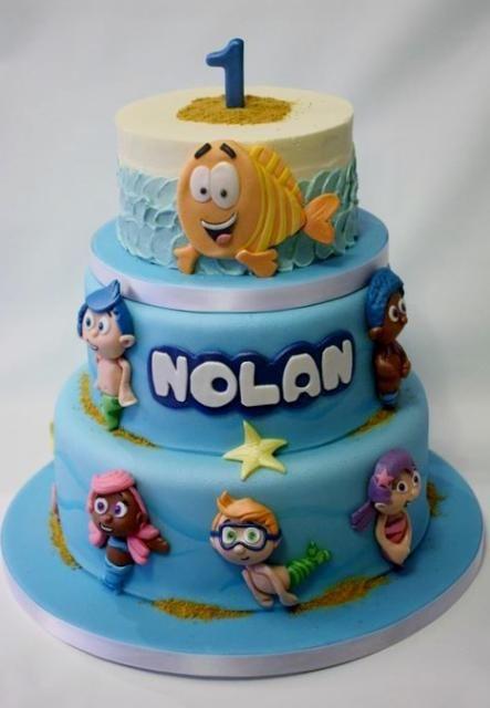 Cool Bubble Guppies Sheet Cake Photo Of Bubble Guppies Theme Birthday Funny Birthday Cards Online Hetedamsfinfo