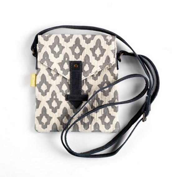 Envelope Crossbody Bag -- Moroccan Pendant