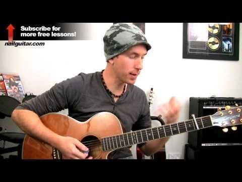 Crossfire by Brandon Flowers - Acoustic Guitar Lesson - How To Play ...