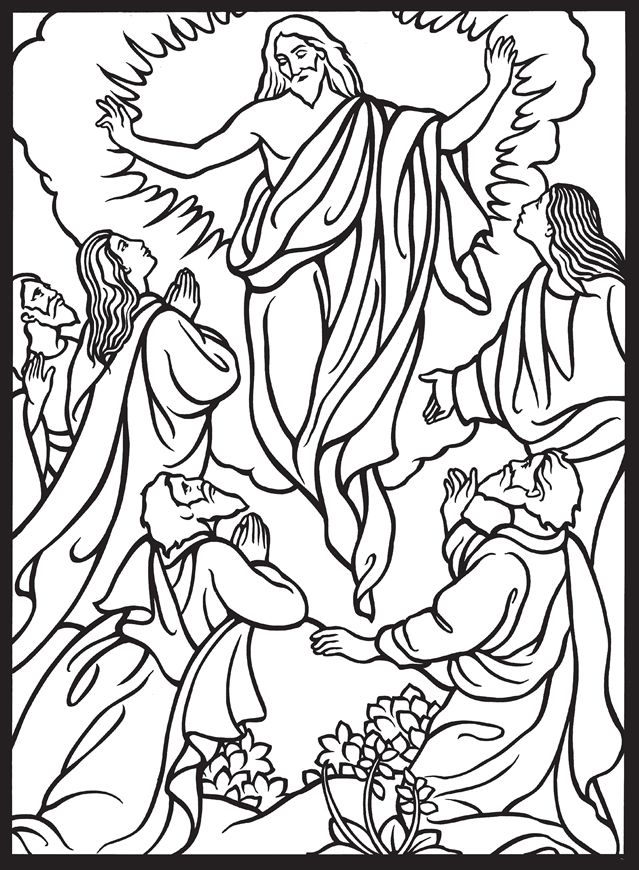 Welkom Bij Dover Publications Jesus Drawings Coloring Books Bible Coloring Pages