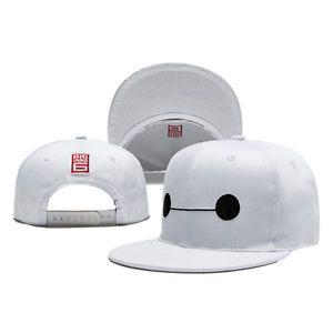 dbaad9e0703 Cute-Kids-Boy-Girl-Big-Hero-6-Baymax-Adjustable-Snapback-Hat -Baseball-Cap-Toy