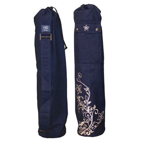 yoga mad sac pour tapis de yoga 63 x 14 5 cm bleu amazon. Black Bedroom Furniture Sets. Home Design Ideas