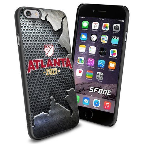 Atlanta United FC MLS Iron Logo WADE6533 Soccer iPhone 6 4.7 inch Case Protection Black Rubber Cover Protector WADE CASE http://www.amazon.com/dp/B0141V57NI/ref=cm_sw_r_pi_dp_V.cCwb1458C6V