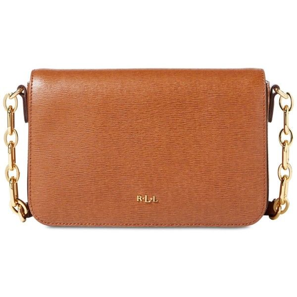 57329c653e77 Lauren Ralph Lauren Carmen Small Crossbody Bag (£89) ❤ liked on Polyvore  featuring