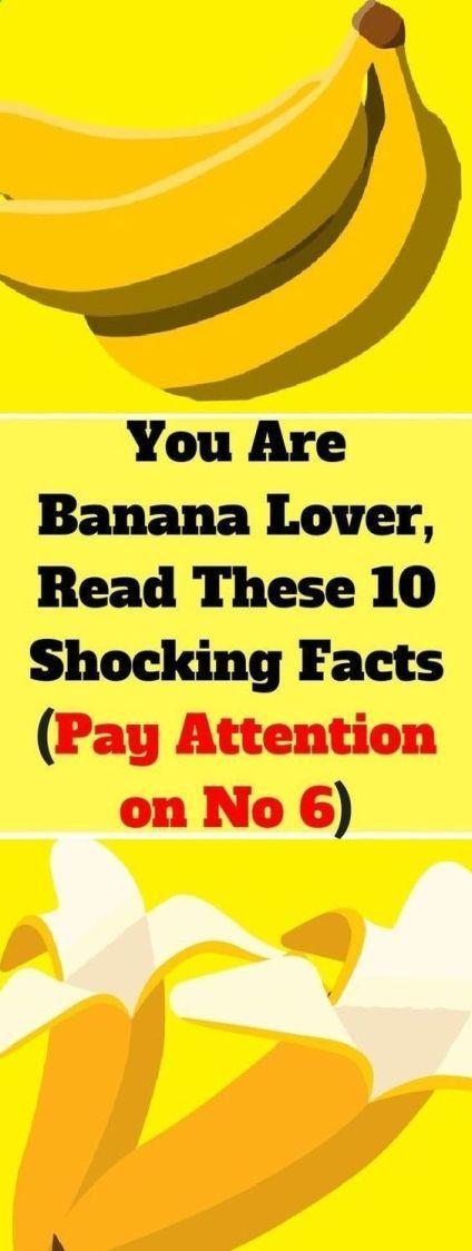 If You Are Banana Lover Read These 10 Shocking Facts (No.6 Is Very Important) -  #healtyfood #health #wellness #fruits #banana #benefits  - #banana #facts #important #Lover #No6 #read #Shocking